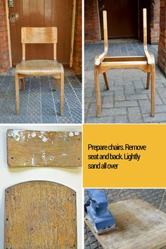 How to make a map chair part1 pillarboxblue.com