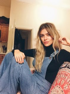 Joanna Halpin on Instagram in Stoned Immaculate Vintage overalls