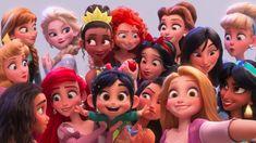 Disney Princess in Wreck it Ralph 2