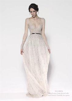 My FAVE dress from Paolo Sebastian. via Fashion Squared