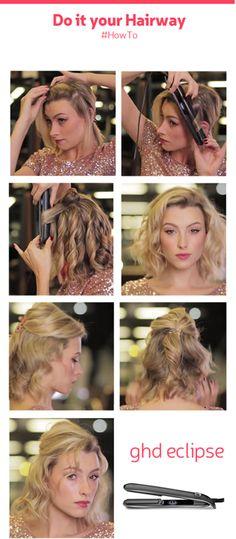 Κυματιστά μαλλιά που δεν χάνουν την απαλότητα και τη λάμψη τους, με την ghd eclipse: http://hairwaybeauty.com/gr/ghd-eclipse  Αποκτήστε σε λίγα βήματα το πιο Hot look της σεζόν!  #howTo #hairtutorials