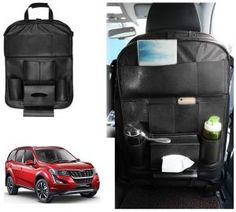 Mahindra XUV 500 2018 Car Seat Back Multi Pocket Storage Bag BLACK Price-350/- Laura Car, Car Accessories List, Jetta Car, Volkswagen Jetta, Car Body Cover, Maruti Suzuki Alto, Tucson Car, Police Lights, Chevrolet Aveo