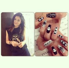 Beverly Hills, Es Nails, Salon Nails, Kylie Jenner Nails, Cute Hairstyles, Nail Designs, Tattoos, Rose, Beauty