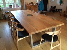 Large Oak Dining Table | TarzanTables.co.uk