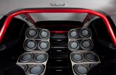 Rockford Fosgate Mitsubishi EVO Evo, Car Sounds, Rockford Fosgate, Car Audio, Bass, Sick, Entertainment, Interiors, Random