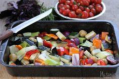Recepty pre rúru. Pečená zelenina. Zapekané bagety/ciabatty. Slané chuťovky k vínu.