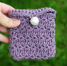 Small Star Stitch Pouch