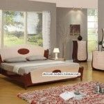 Modern furniture | The modern bedrooms and a choice of colours | http://discount-modern-furniture.com