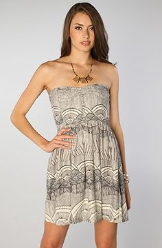 The Distance Dress in Cream by ONeill #Karmaloop Discount Rep Code: STYLECAFE