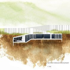 watercolour architecture section - Google Search