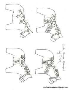 dala horse carving pattern - Google Search