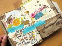 Summer Of Love - Art Journal by Michelle Clement http://www.flickr.com/photos/michellealynn/sets/72157625087596122/ http://michelleclement.typepad.com/blog/2010/09/summer-of-lovemy-art-journal-pt-3.html