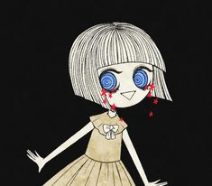 Fran Bow by tourniiquett on DeviantArt Horror Video Games, Rpg Horror Games, Vocaloid, Little Misfortune, Creepy Games, Bow Art, Mad Father, Witch House, Indie Games