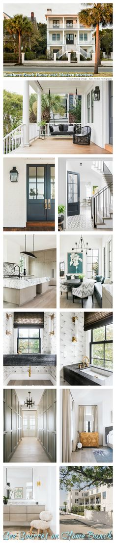 Southern Beach House with Modern Interiors Southern Beach House with Modern Inte… – Beach House Decor New England Homes, New Homes, Popular Paint Colors, Affordable Home Decor, My Living Room, Interiores Design, Home Renovation, Modern Farmhouse, Farmhouse Design