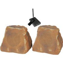 TIC Corporation New Canyon Wireless Outdoor Rock Speakers Pair