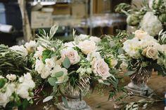 Tuscan Inspired Wedding Flowers  Royal Bloom California  Photo Credit Nicole Hoefer Photography