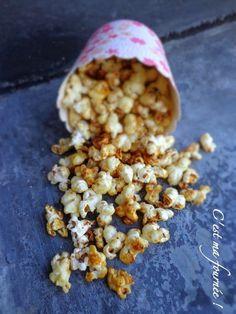 C'est ma fournée !: Idée déco pour vos desserts : le pop corn caraméli...