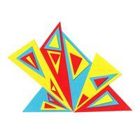 """Triangles"" by Lauren Cotton"