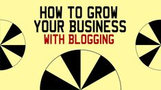 How to Grow Your #Business With Blogging! https://www.youtube.com/watch?v=GqK7dPMDhM0