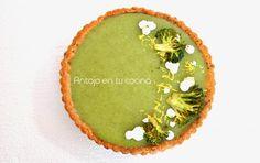 Tarta de brocoli y limon //  BROCCOLI AND LEMON TARTLET