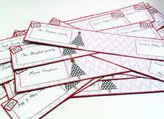 DIY: Christmas card wrap-around address labels   Free download!