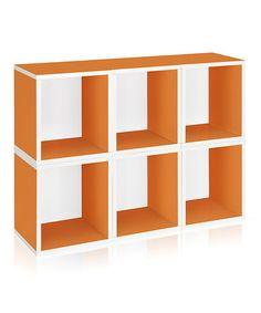 Loving this Orange Plus Modular Cube - Set of Six on #zulily! #zulilyfinds