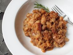 Quick Cassoulet Recipe - French Pork and Bean Casserole