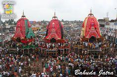 BahudaJatra -The Return Journey Of Lord Jagannath. Lord Jagannath, Taj Mahal, Tourism, Journey, India, Explore, Building, Travel, Turismo