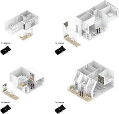 Immeubles de logements ZAC du Port – Pantin