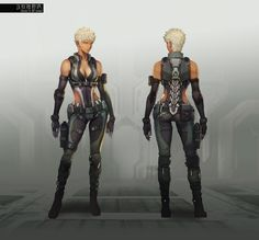 Ghost in the shell online game art. Unknown Artist.