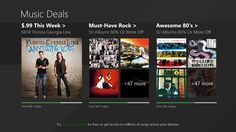 Music Deals screen shot 0