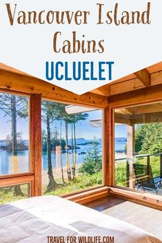 A selection of the best Ucluelet cabins that you can rent for your next vacation in Vancouver Island. These cabins in Ucluelet are a dream! Vancouver Island, Vancouver Travel, Oh The Places You'll Go, Places To Travel, Travel Destinations, American Islands, British Columbia, Columbia Travel, Western Canada