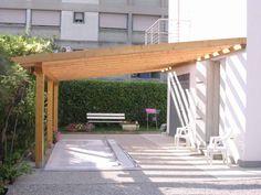 Pergolati e tettoie in legno - realizzazione