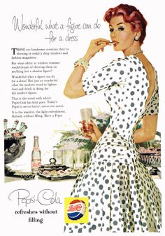 From Vintage ad campaign: Pepsi-Cola