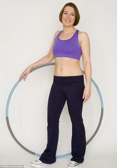 6 weeks of hula hooping for tighter abs.