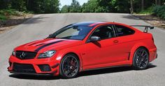 Barely Used 2013 Merc C63 AMG Black Series To Be Auctioned Off #AMG #Auction