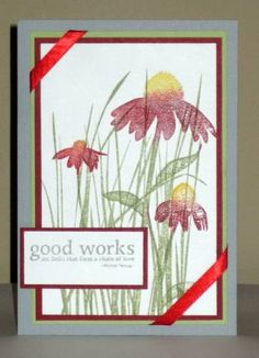 There's No Need to Lick the Ink by Judyw - Cards and Paper Crafts at Splitcoaststampers