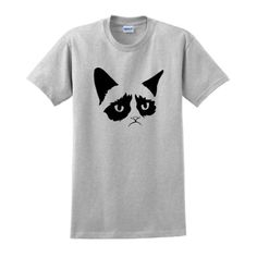 Grumpy Cat Short Sleeve T-Shirt Funny Awful Kitten Fun Meme Internet Legend College Humor Reddit tard Crazy Lady T-Shirt Medium Ash - http://activelifeessentials.com/pins/grumpy-cat-short-sleeve-t-shirt-funny-awful-kitten-fun-meme-internet-legend-college-humor-reddit-tard-crazy-lady-t-shirt-medium-ash/