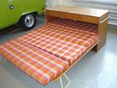 Camping box bed
