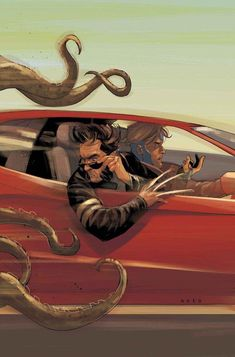 #tentacleloveclub in #comics ~ Phil Noto  @MichelePici @melifer1 @LDryvalley @circubus @Soniasuponia @NinaBlue_