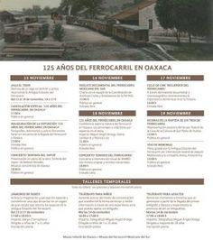 Con una semana de actividades celebrarán los 125 años del Ferrocarril en Oaxaca en la Antigua Estación