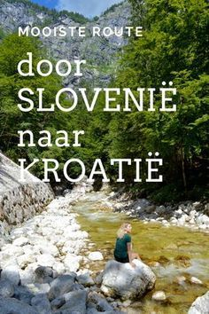 The most beautiful route through Slovenia to Croatia - Reisgenie - This is the most beautiful route through Slovenia to Croatia. Because Slovenia also has a lot to of - Places To Travel, Places To Go, Europa Tour, Slovenia Travel, Croatia Travel, Bohinj, Road Trip Europe, Travel Europe, Reisen In Europa
