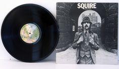 ALAN HULL, Squire. Very rare. First UK pressing 1975. Matrix stamp and handwr... - FOLK, FOLK ROCK, COUNTRY and folkish music! #LP Heads, #BetterOnVinyl, #Vinyl LP's
