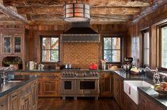 Ideas de decoración para cocinas rústicas pequeñas
