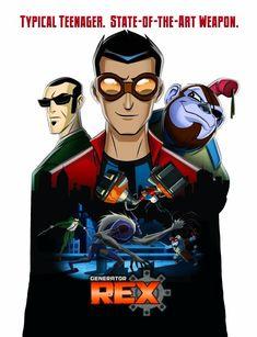 Generator Rex | Watch cartoons online, Watch anime online, English dub anime