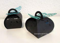 Zierschachtel Andenken Curvy Keepsake Perpetual Birthday Calendar Schmetterling Verpackung Stampin Up