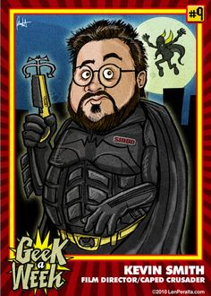 Geek a Week: Kevin Smith trading card