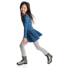 The Sparkle Dress by Appaman has a fun, flirty skirt for the sparkle lover in your house! Great for a day of ice skating!