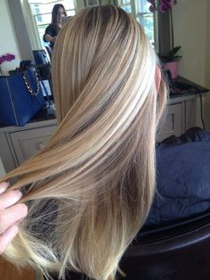 Salon Olivier - Gorgeous butter blonde highlights and low lights by Gina K - Summerland,
