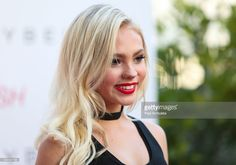Actress Jordyn Jones attends the Maybelline New York Beauty Bash at The Line Hotel on June 3, 2016 in Los Angeles, California.